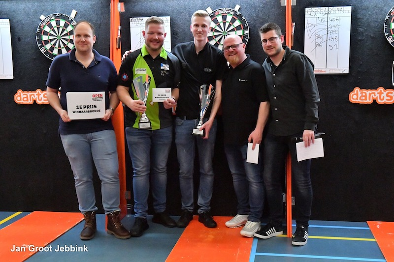 Winnaars De Burght Open Vollenhove 2019 - € 1000,-